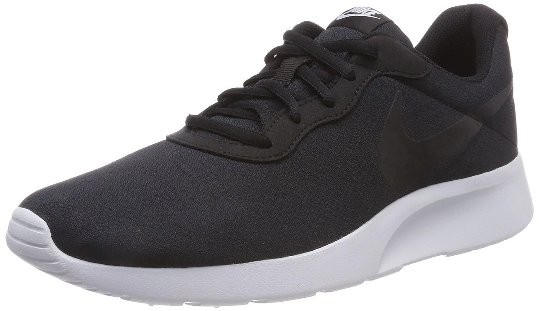 Nike TANJUN - Zapatillas de running, Negro (Black/Pure platinum), 42.5 EU