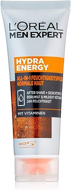 LOreal Men Expert Hydra Energetic All-in-1 75ml crema hidratante, 1er Pack (1 x 75 ml): Amazon.es: Belleza