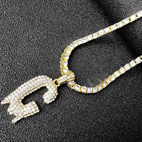 5b454544f68b6 HH Bling Empire Iced Out Hip Hop Gold Faux Diamond Bubble Dripping ...