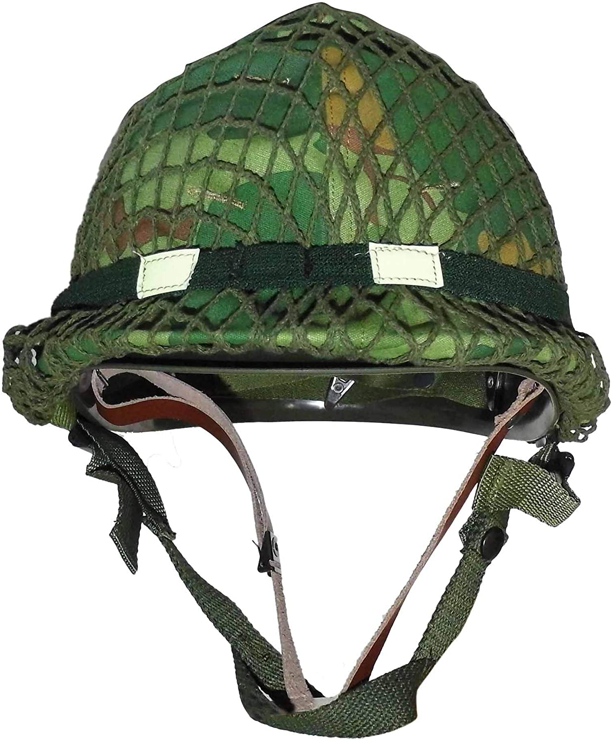 Reproduction 1959 Dated Vietnam War Era US M1 Combat Helmet with Mitchell Cover