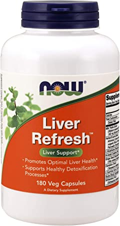 NOW Supplements Liver Refresh with Milk Thistle Extract