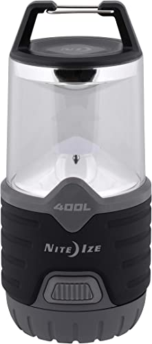 Nite Ize Radiant 400 Lantern, 400 Lumen Lantern for Camping Or Emergency Preparedness, Radiant 400 Lantern