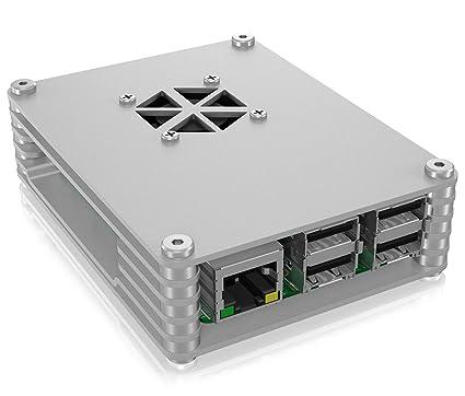 Icy Box - Carcasa Abierta para Raspberry Pi 3 Model B+, Pi 3 ...