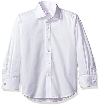 5d415296b Amazon.com: Isaac Mizrahi Boy's French Cuff Cotton Shirt: Clothing
