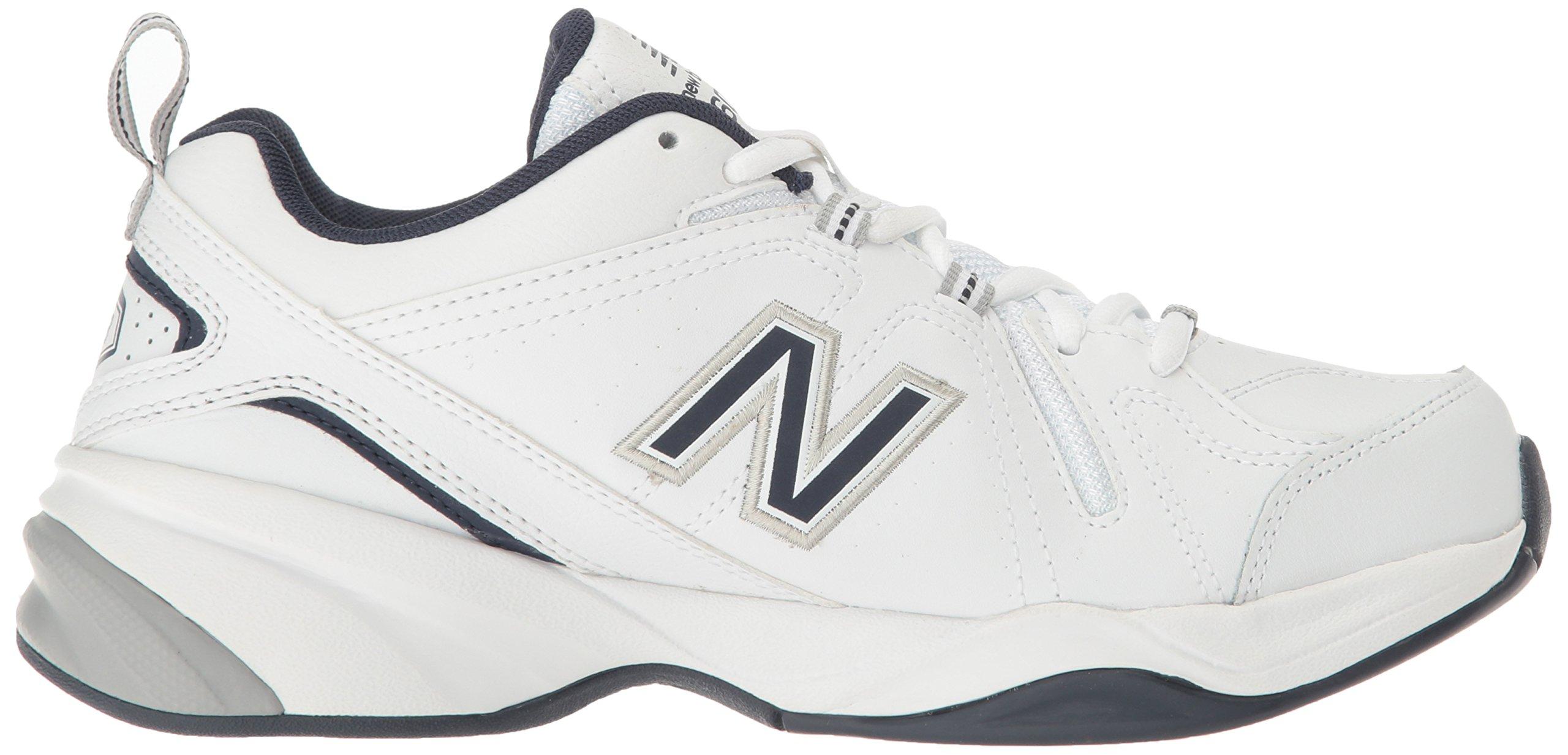 New Balance Men's MX608v4 Training Shoe, White/Navy, 7.5 4E US by New Balance (Image #7)