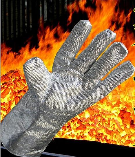 Alta temperatura 1000 °C resistente al calor – seguridad soldadura guantes de trabajo 38 cm