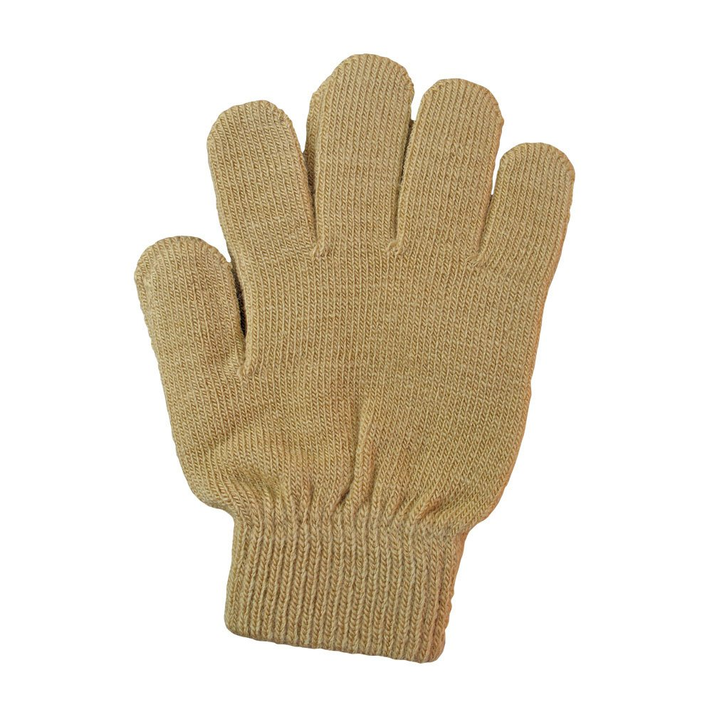 A&R Sports Knit Gloves, Toast, One Size
