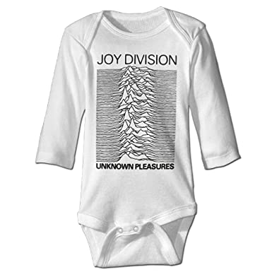 fc6aaf753 Amazon.com: Unknown Pleasures Album Joy Division Infant Boys Girls Baby  Onesie Bodysuit Long Sleeve: Clothing