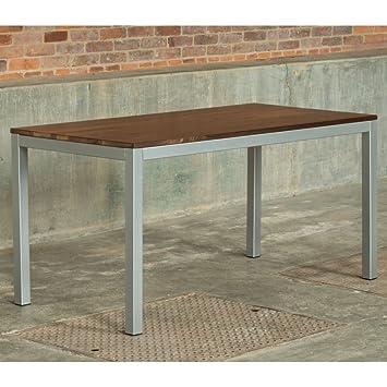 Elan Furniture Elan Furniture Loft Indoor Dining 60 X 30 Table   Walnut Top  / Gloss