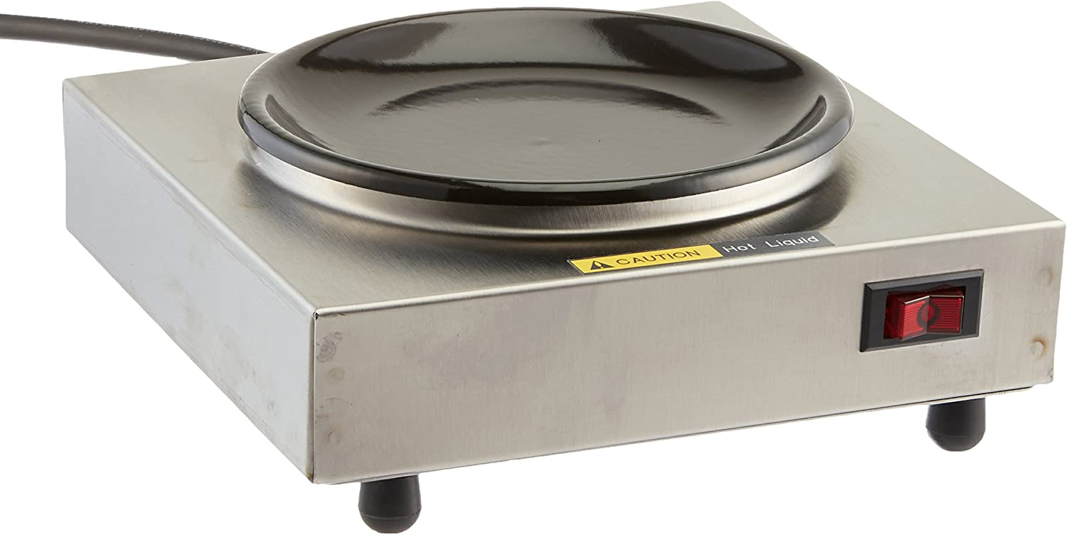 Bloomfield 8851S Coffee Warmer, 1-Station, Stainless Steel, 7 1 2 Depth, 7 1 2 Width, 3 Height