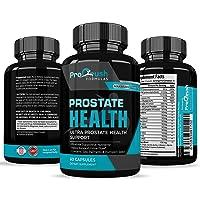Prostate Support Health Supplement - Maximum Strength - Improves Bladder Discomfort...