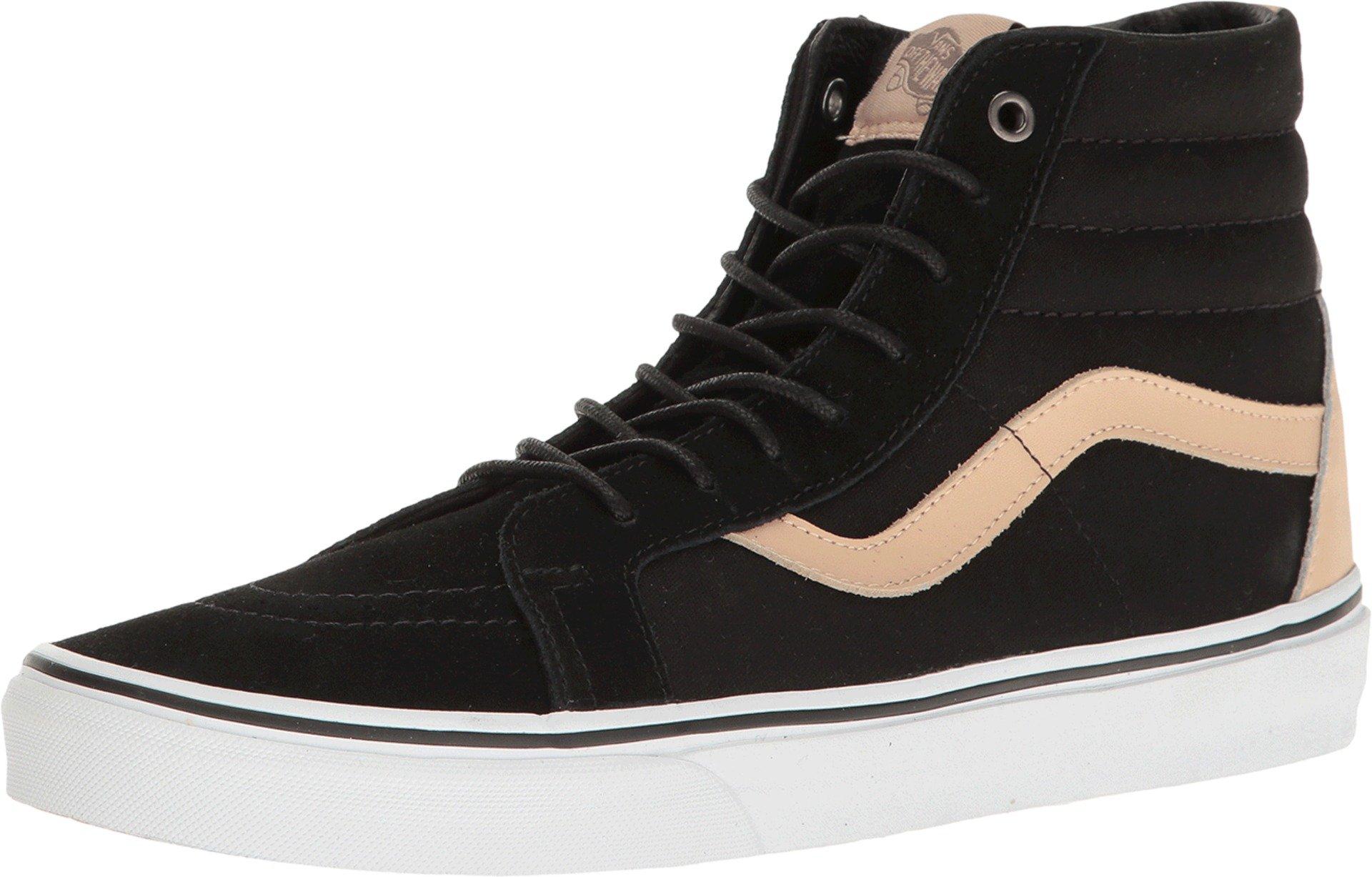 431f9d6a Vans Mens SK8-Hi Reissue (Veggie Tan) Skate Shoes Black/True White 8.5 D(M)  US