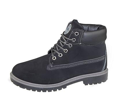 33034e1268ba KOLLACHE Men s Boot Color Black Size UK 8 EU 42 US 9  Amazon.co.uk  Shoes    Bags