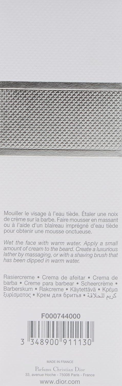 Alvorlig Amazon.com: Christian Dior Eau Sauvage Lather Shaving Cream ZS-59