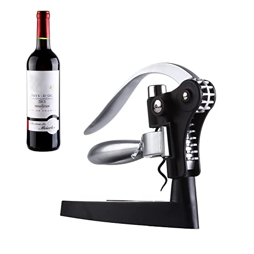 5 opinioni per Cavatappi, Bottiglia di vino GWCLEO barra apri Craft Connoisseur Deluxe