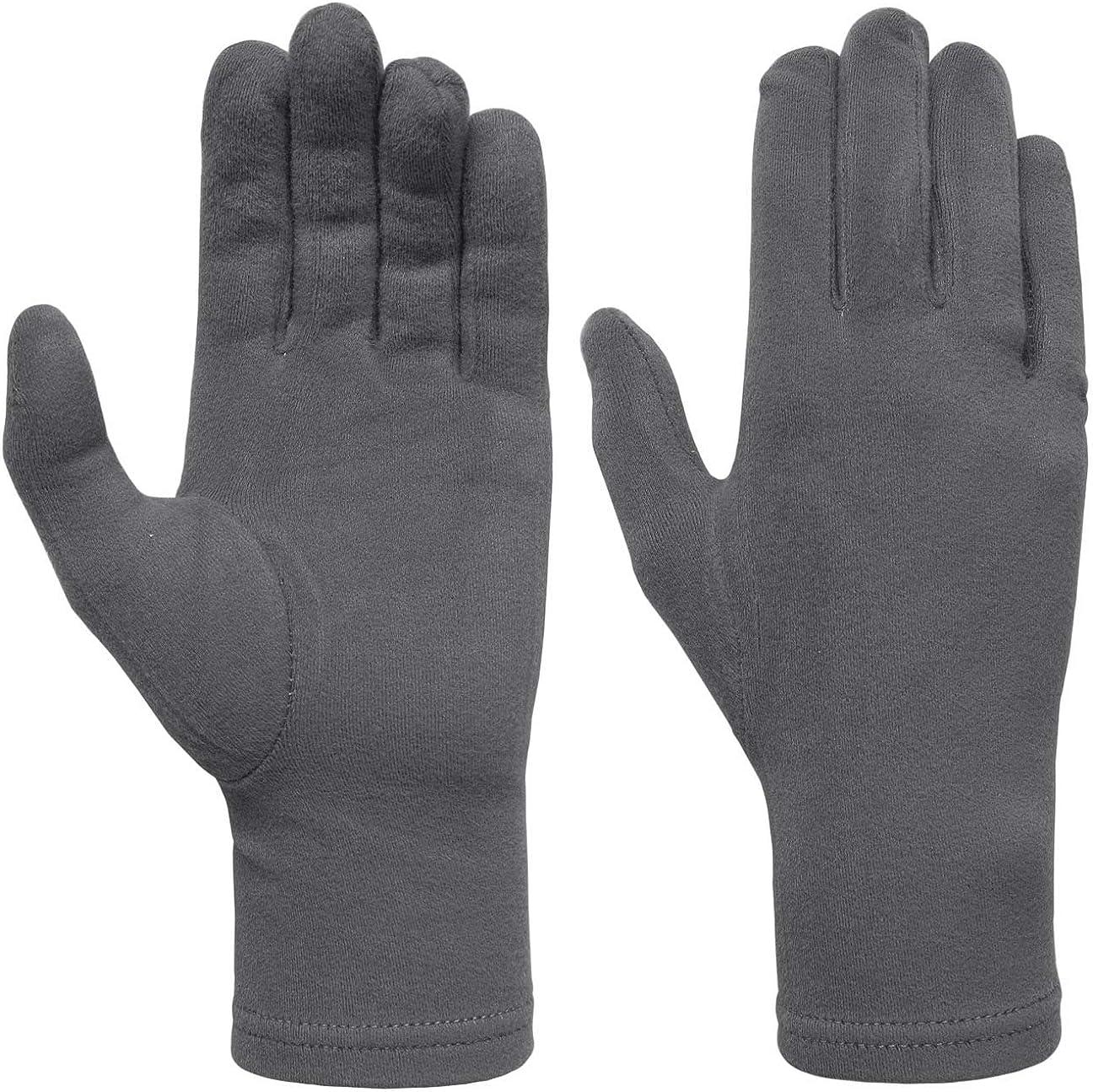 Hutshopping Damen Microfleece Handschuhe Damenhandschuhe Fleecehandschuhe Sporthandschuhe