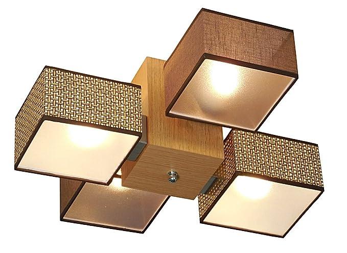 Plafoniere Da Soffitto In Legno : Lampada da soffitto wero design barsa di f