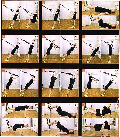 Crivit® Honda Trainer – Sling Entrenamiento – Fitness Body Workout
