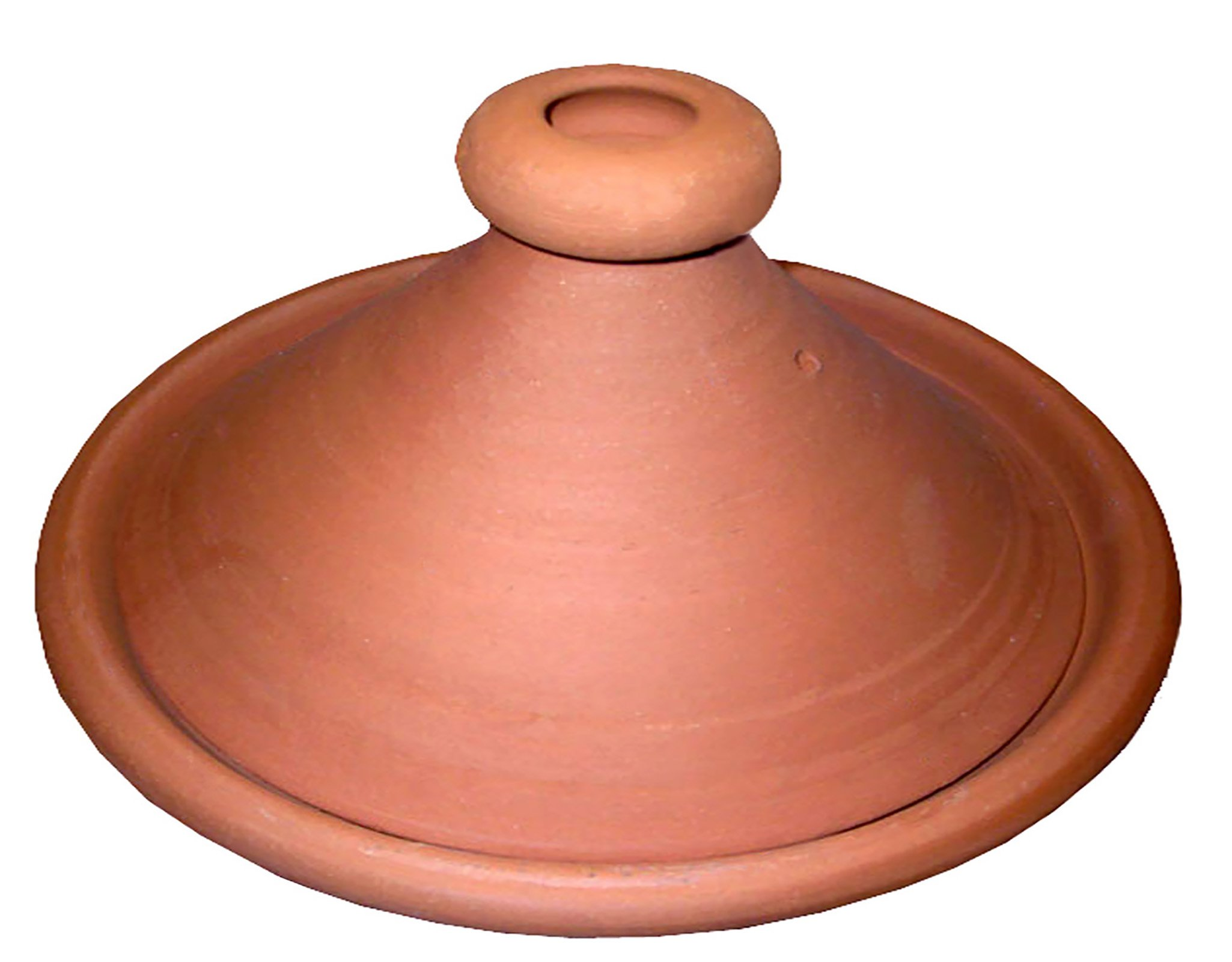Moroccan Lead Free Cooking Tagine Non Glazed X-Large 13 Inches in Diameter Authentic Food