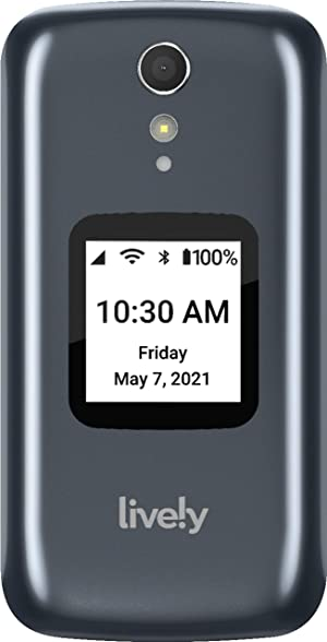 GreatCall - GreatCall Lively Flip - Gray - from The Makers of Jitterbug