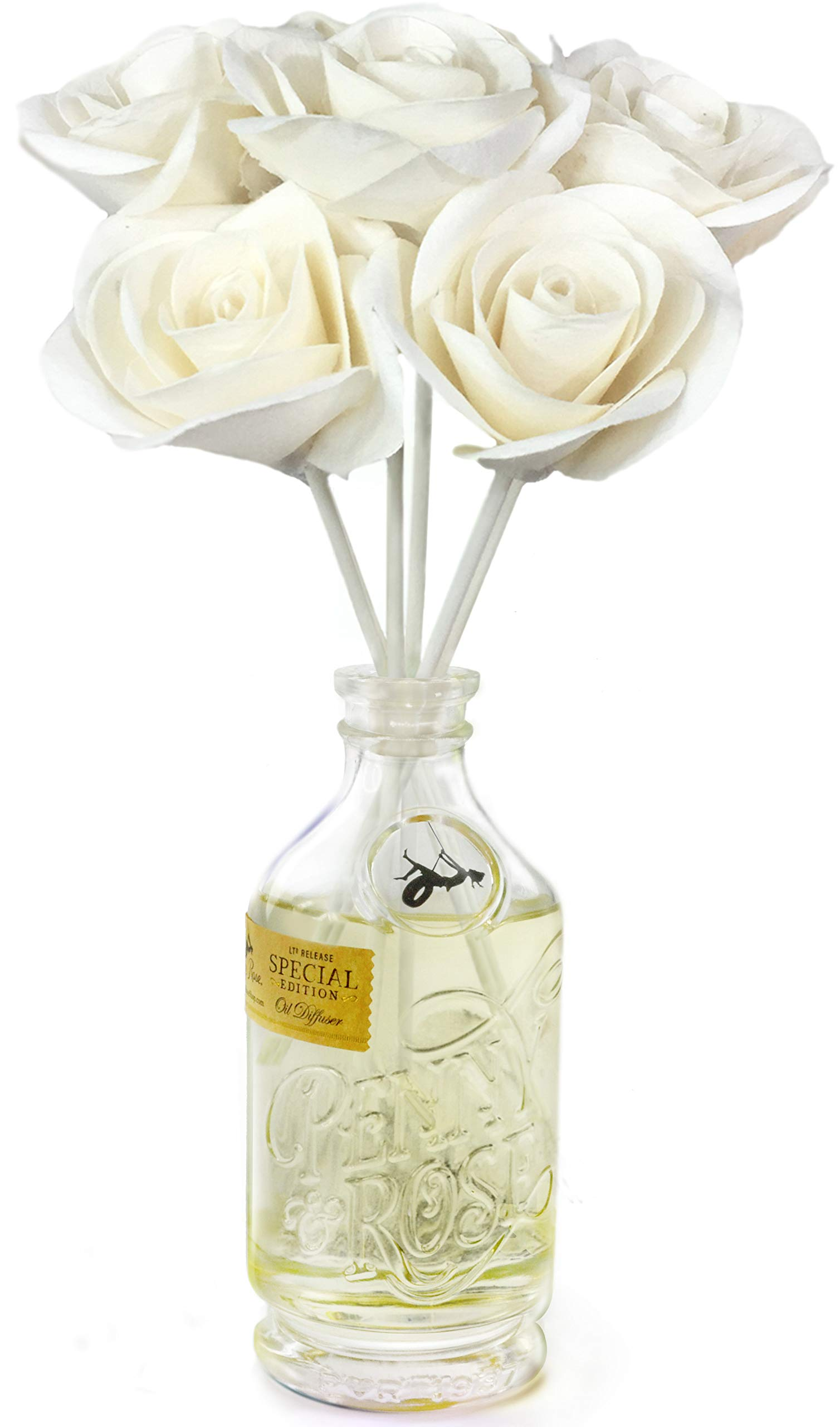 Penny & Rose White Rose Floral Diffuser | Summertime Spirits Oil Scent by PENNY AND ROSE (Image #2)