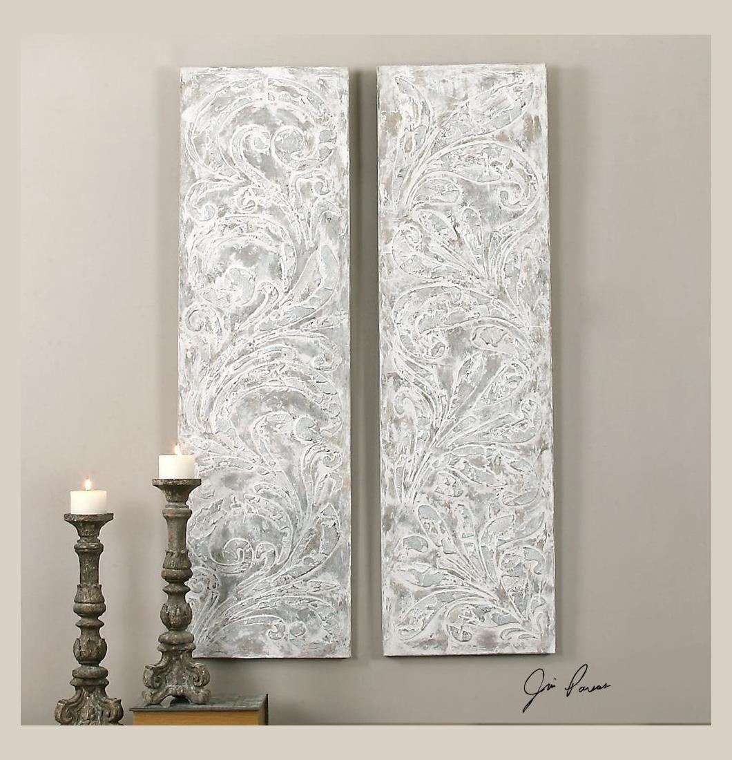 Uttermost Frost On The Window Wall Art, S/2