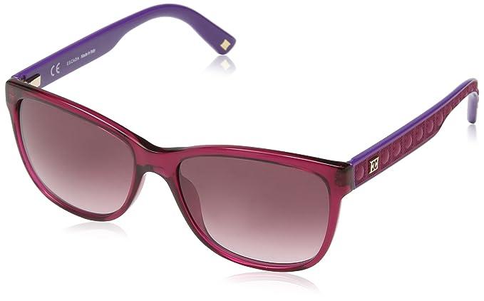 Womens Ses375M Sunglasses, Purple (Shiny Transparent Pink Cyclamen), One Size Escada