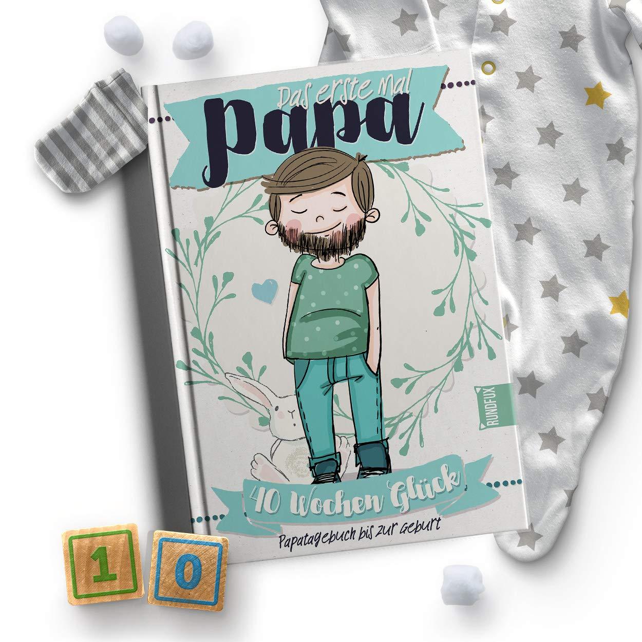 Tagebuch Fur Daddy Mal Papa Baby Mama Pass Geschenk Zur Geburt Das 1