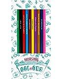 Nurse Colors - 12 Nursing Themed Colored Pencils