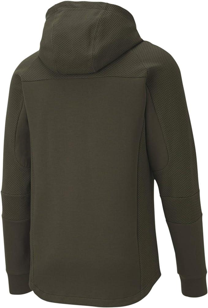 PUMA Herren EVOSTRIPE Hooded Jacket Trainingsjacke: Amazon