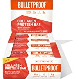Collagen Protein Bars, Berry Cobbler, 11g Protein, 12 Pack, Bulletproof Grass Fed Healthy Snacks, Made with MCT Oil, 2g Sugar
