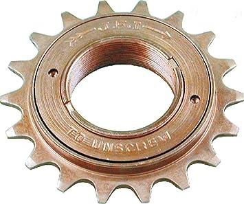 Piñon JFI para Rueda Libre de Bicicleta de 20 dientes Singlespeed Fixie 1V 3460: Amazon.es: Deportes y aire libre