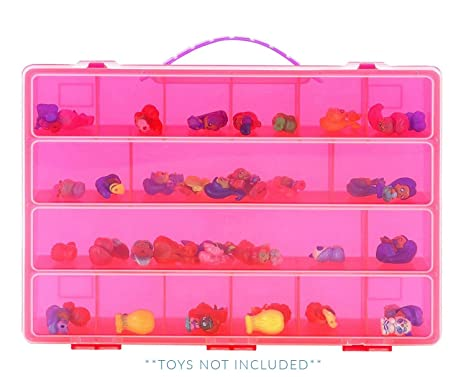 Life Made Better Shimmer Shine Teenie Genies Case, Toy Storage Carrying Box.  Figures Playset