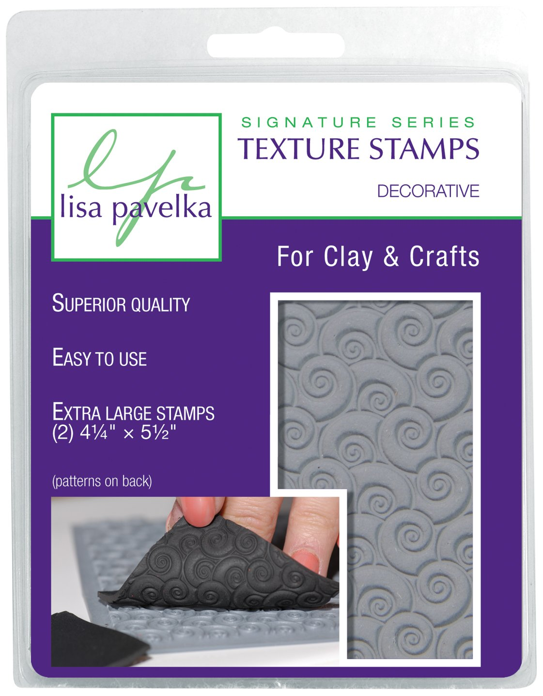 JHB International Inc Lisa Pavelka 327016 Texture Stamp Kit Decorative by JHB International Inc