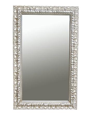 Hervorragend B.U.S. Wohnstyle GmbH Spiegel Wandspiegel Stella antik silber 80 x CM88