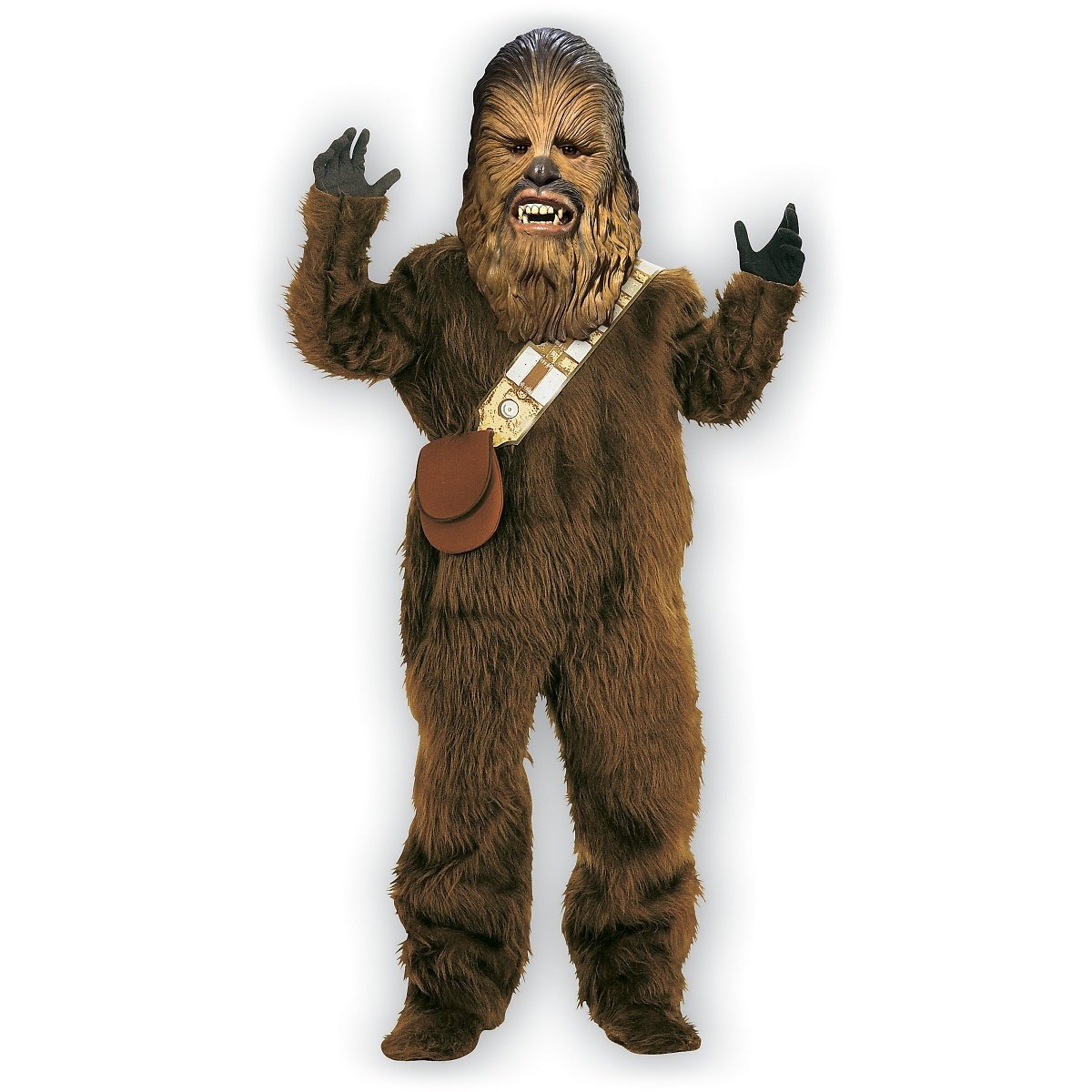 Rubie's Men's Star Wars Deluxe Chewbacca Costume, Size Standard by Rubie's Costume Co