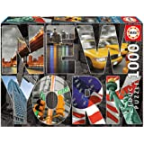 Educa - 16288 - Puzzle Classique - Collage de New York