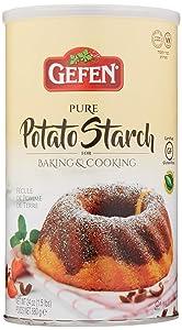 Gefen Pure Potato Starch, 24oz (1.5 lb Resealable Container) Gluten Free