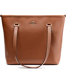coach outlet tote bags e9lb  Coach Leather Tote