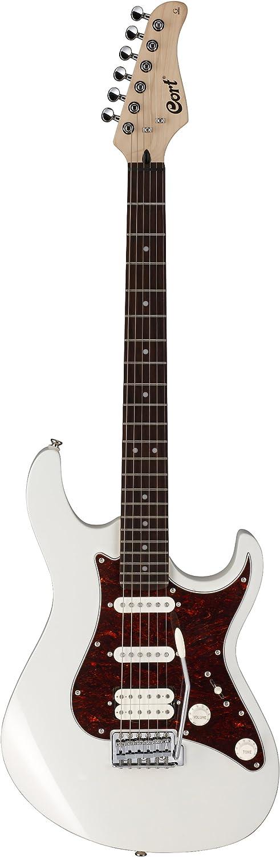 Cort G210 AW - Guitarra eléctrica (pastillas stratocaster, madera ...