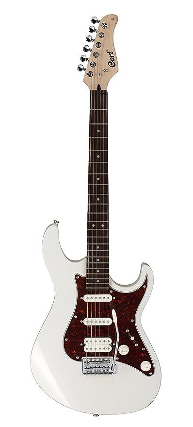Cort G210 AW - Guitarra eléctrica (pastillas stratocaster, madera)