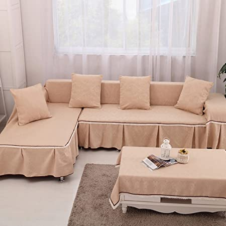 vercart L Shape Corner Sofa Cover By the Living Room Decoration ...