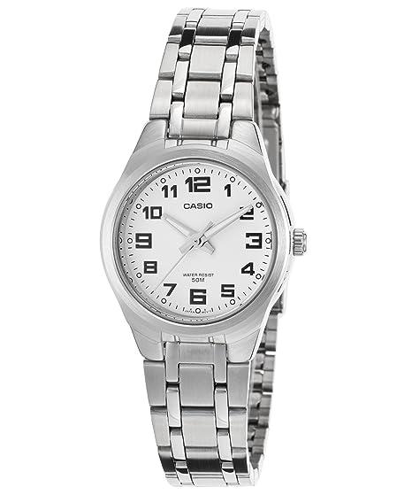 Casio LTP-1310D-7B - Reloj analógico de cuarzo para mujer, correa de