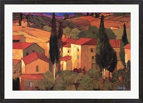 Amazon.com: Terracotta Vista by Philip Craig Framed Art Print Wall ...