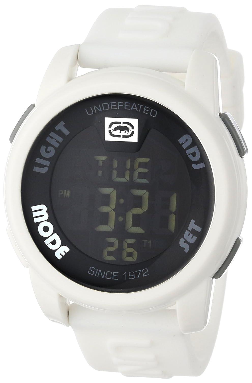 Ecko Unlimited Reloj Cronógrafo para Hombre de Cuarzo con Correa en Silicona E07503G2