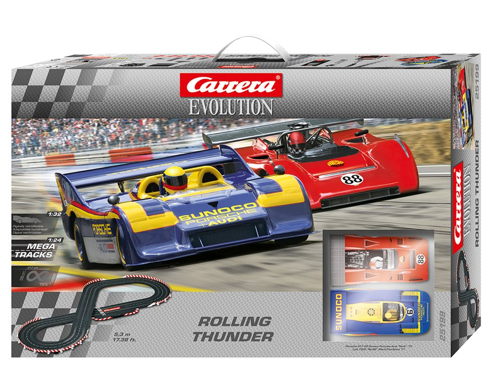 Carrera Evolution Rolling Thunder Race Set