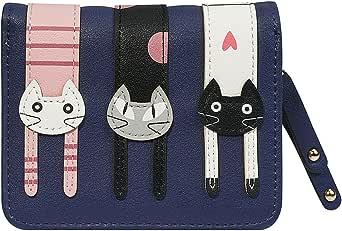 Lineman Womens Genuine Leather Wallet Zip Around Wallet Clutch Wallet Coin Purse