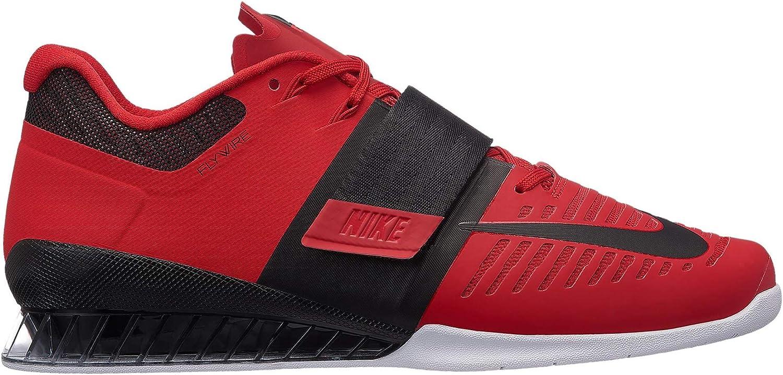 Nike Romaleos 3 Mens 852933-603 Size 12.5 赤/黒