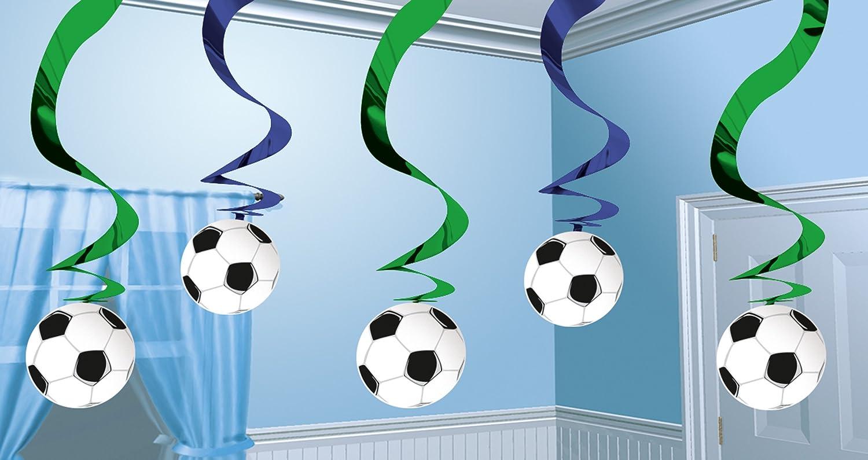amscan Artículos Decorativos para Colgar Estilo fútbol