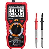 Multimètre, Testeur Electrique, Tacklife DM01M Avancé TRMS 6000 Points /Ampèremètre /Voltmètre /Ohmmètre /Ecran LCD Rétroéclairé /NCV /Mesure de Température